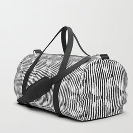 Zen Circles Block Print Duffle Bag