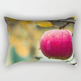 Apples in the fall Rectangular Pillow