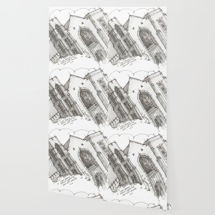 Oa[k]cliff Temple Wallpaper