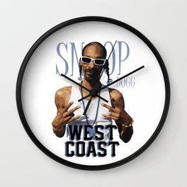 Snoop Dogg // West Coast Wall Clock