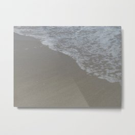 Beach Waves 5 Metal Print
