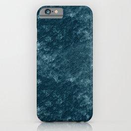 Peacock teal velvet iPhone Case
