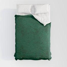 Green suede Comforters