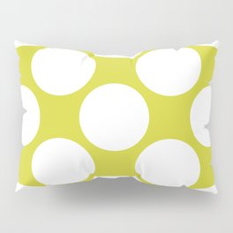 Polka Dots Green Pillow Sham