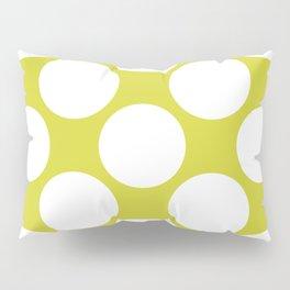 Polka Dots Green Pillow Sham