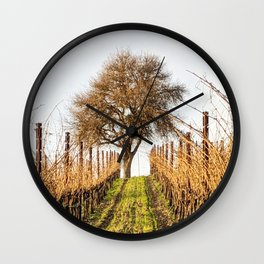 Paso Robles: Booker Vineyard Wall Clock