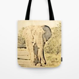 Vintage Animals - Elephant Tote Bag