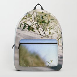 Sand dunes by the sea Backpack