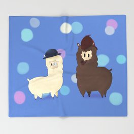 Sherlock Alpaga  Throw Blanket