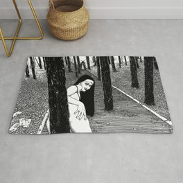 asc 603 - L'histoire sans fin (The Garden of Forking Paths) Rug