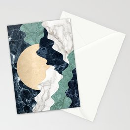 Marble mountain landscape Stationery Cards