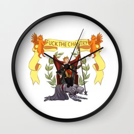 His Imperial Majesty Anders Wall Clock