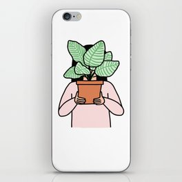 Plant Collector iPhone Skin