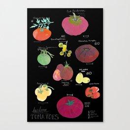 Heirloom Tomatoes Canvas Print