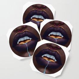 Vampire Lips Coaster