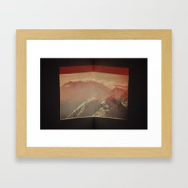 Untitled (Alps) Framed Art Print