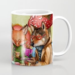 Woodland Friends at Teatime in Forest Coffee Mug