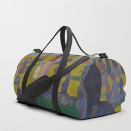 A Sunday Afternoon on the Island of La Grande Jatte Painting by Georges Seurat Pointillism Duffle Bag