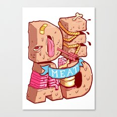 Dead meat Canvas Print
