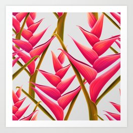 flowers fantasia Art Print