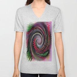 Swirls of music Unisex V-Neck