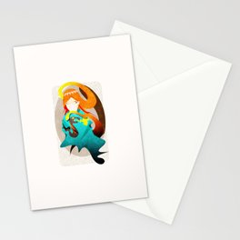 Madame Serpent Stationery Cards