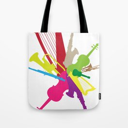 instrumental Tote Bag