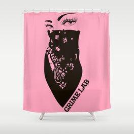 Bandana Girl Shower Curtain
