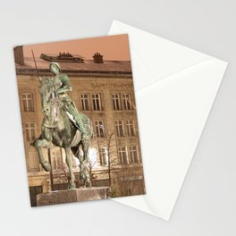 Joan of Arc Frozen in Time Stationery Cards