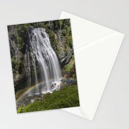 Rainbow Passing Through Narada Falls Stationery Cards