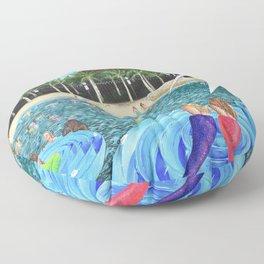 Seacrets Floor Pillow