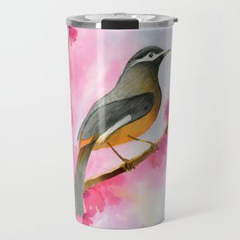 Amber breasted birdie Travel Mug