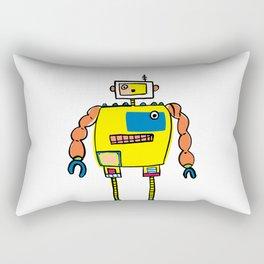 Classic Mr. Orange Super Robot Rectangular Pillow