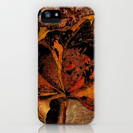 GOLD AND DUST iPhone Case