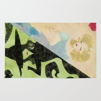 wicked Area & Throw Rugs featuring Wicked by Serena Rocca