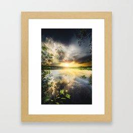 Peekaboo II Framed Art Print