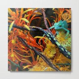 Chameleon Metal Print