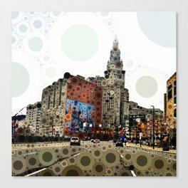 Downtown Cleveland Canvas Print