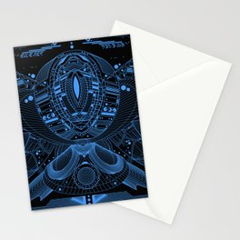 Octo Tech Stationery Cards