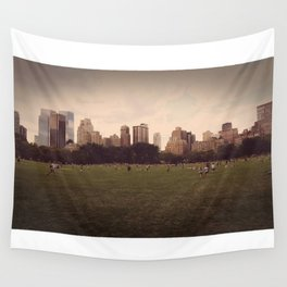 Central Park Stroll Wall Tapestry