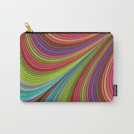 Happy curves Carry-All Pouch