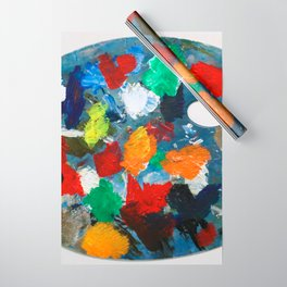 The Artist's Palette Wrapping Paper