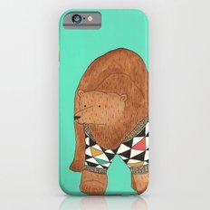 A bear in a sweater iPhone 6s Slim Case