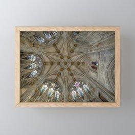 St Mary's Ceiling Framed Mini Art Print