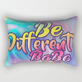 Be Different Babe Rectangular Pillow