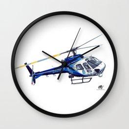 NSW Polair 3 - Eurocopter AS350 Écureuil Wall Clock