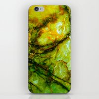geology iPhone & iPod Skins featuring Marble by Patterns and Textures