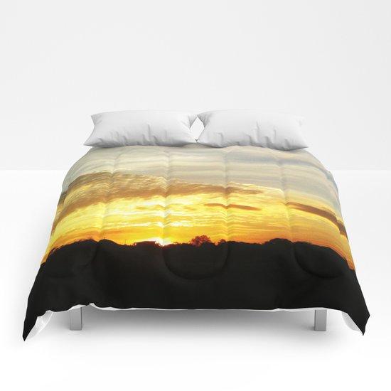 Feel the Sunset Comforters