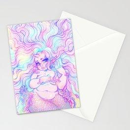 Rainbow Mermicorn (Pastel Version) Stationery Cards