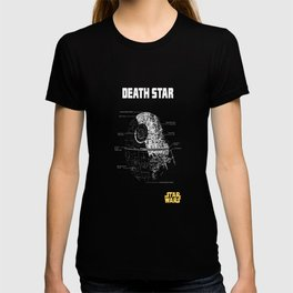 Death Star Schematics T-shirt